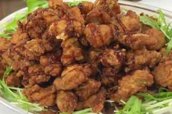 若鶏の唐揚げチャイニーズソース