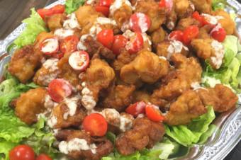 若鶏の唐揚げ シーザーソース