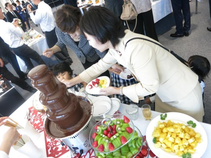 チョコレートファウンテン (4)
