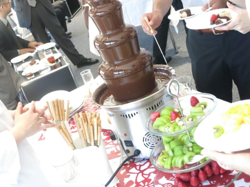 チョコレートファウンテン (7)