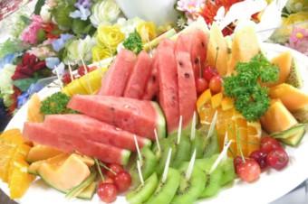 フルーツ盛り合わせが人気です!