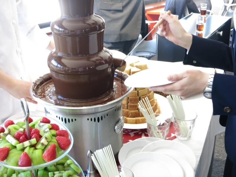 チョコレートファウンテン (3)