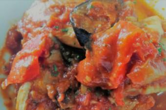 若鶏とグリル野菜のラタトゥイユ