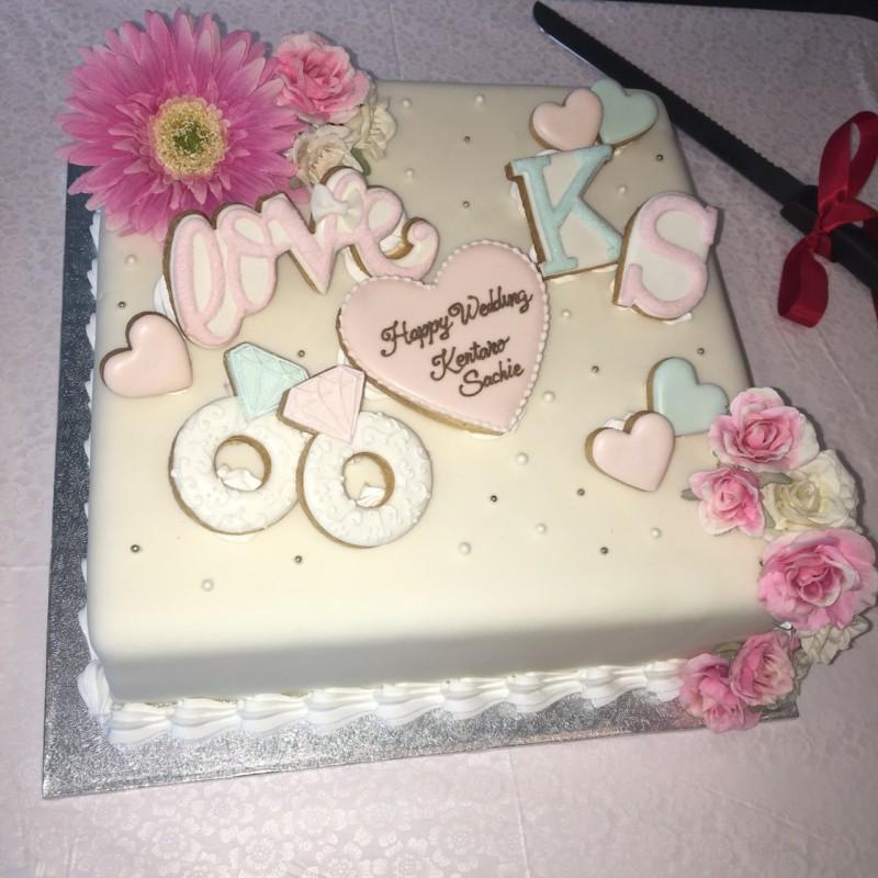 結婚披露宴_ウェディングケーキ1