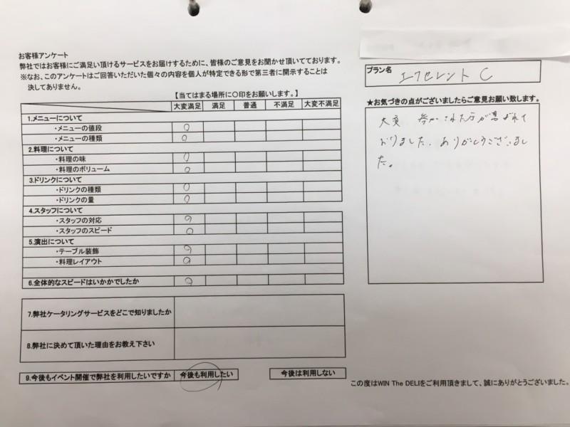 20170624 大塚製薬 アンケート