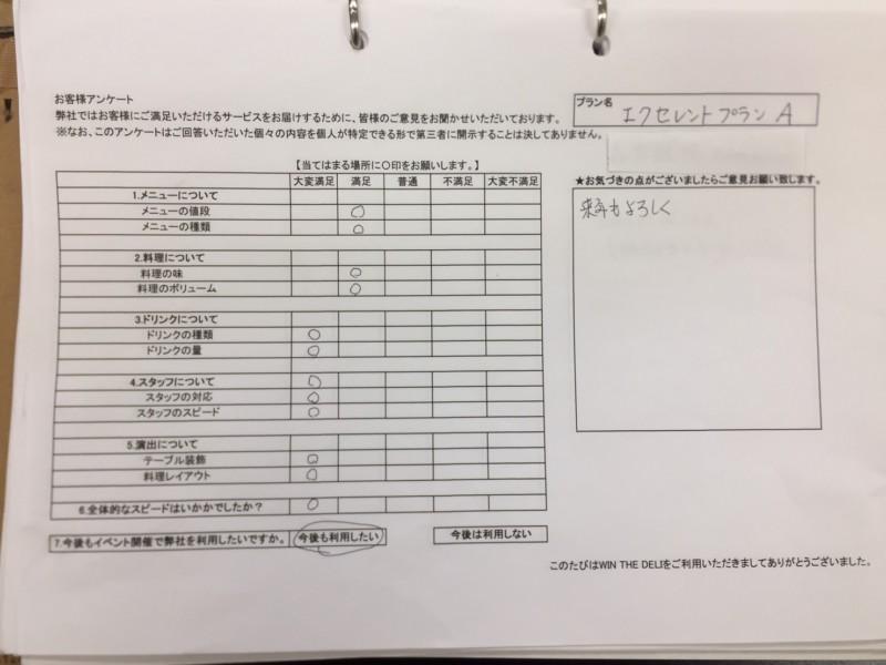 20170615 森本組 アンケート