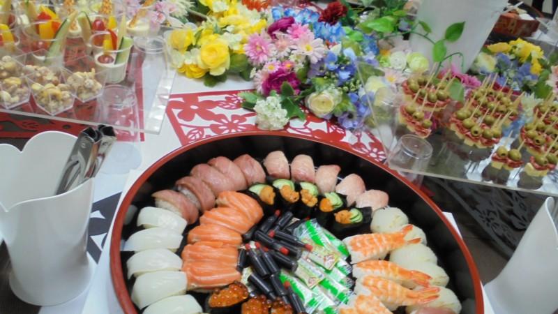 江口巌商店様 お寿司