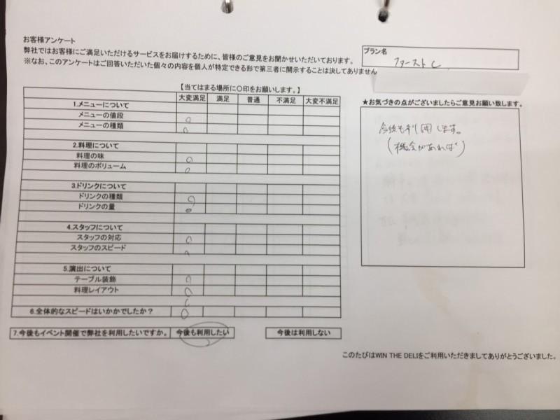 20170525 富士機械 アンケート
