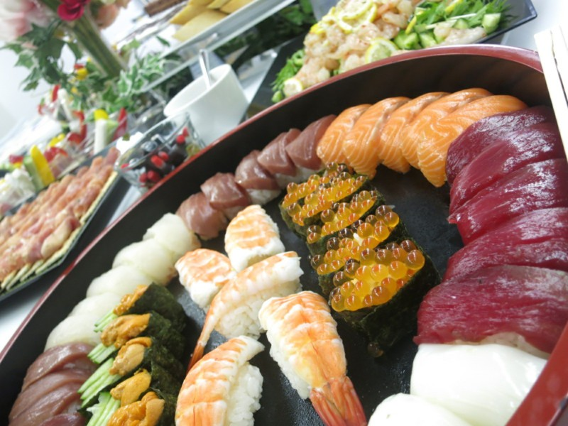 20170718 セピア お寿司