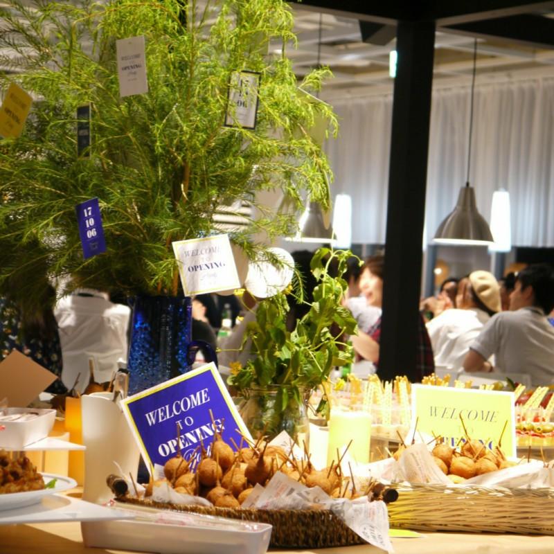 20171006 IKEA オープンパーティー  装飾