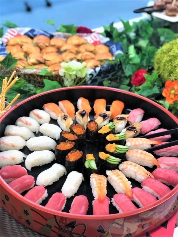 紅白握り 寿司 ケータリング 名古屋 ウィンザデリ