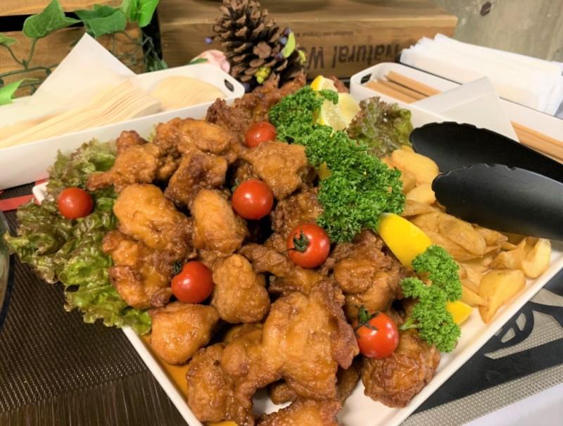 鶏の唐揚げ 油淋鶏ソース ケータリング 名古屋