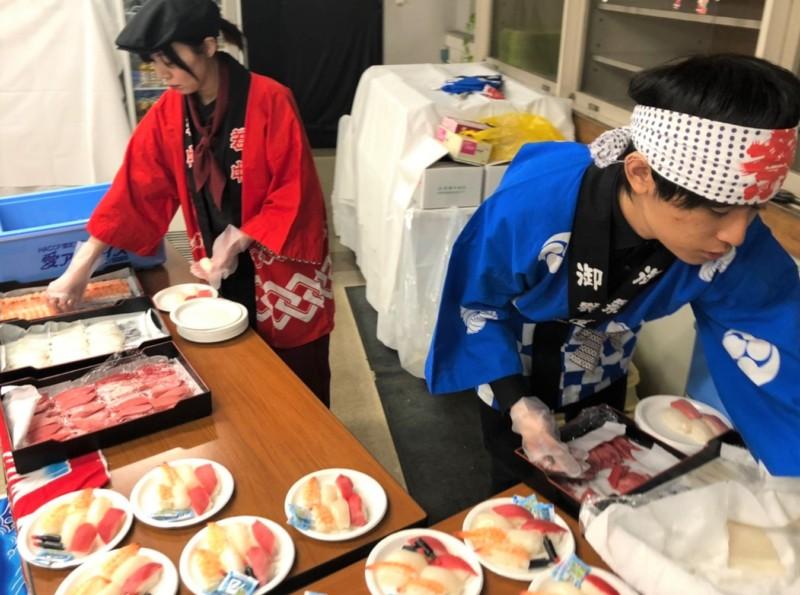 出張寿司職人 ガッツリプラン ケータリング 名古屋